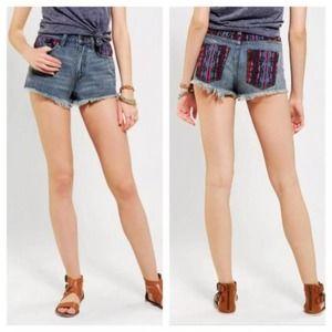 BDG | High Rise Dree Cheeky Cut Off Jean Shorts